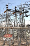 Central eléctrica 4 Imagem de Stock Royalty Free