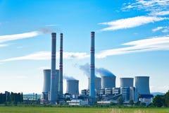 Central eléctrica Imagens de Stock Royalty Free