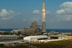 Central eléctrica Imágenes de archivo libres de regalías