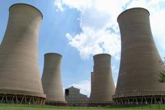 Central eléctrica Imagenes de archivo