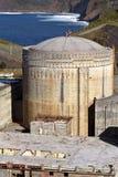 Central eléctrica abandonada foto de archivo libre de regalías