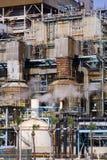 Central eléctrica aherrumbrada Fotografía de archivo libre de regalías