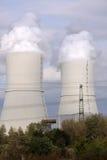Central eléctrica con carbón Imagen de archivo