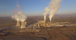 Central eléctrica con carbón metrajes