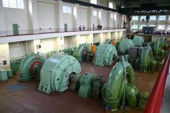 Central eléctrica de agua Imagen de archivo libre de regalías