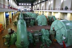Central eléctrica de agua Imágenes de archivo libres de regalías