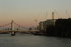 Central eléctrica de Battersea Londres Fotos de archivo