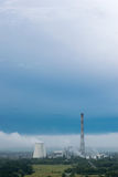 Central eléctrica de calor Fotografía de archivo