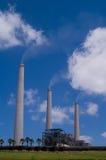 Central eléctrica de carbón fotos de archivo