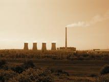 Central eléctrica de carbón Prunerov Imagenes de archivo