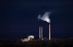Central eléctrica de carvão Fotos de Stock Royalty Free
