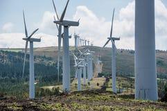 Central eléctrica de energía eólica Fotos de archivo