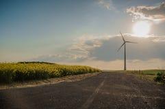 Central eléctrica de energía eólica 02 Fotografía de archivo libre de regalías