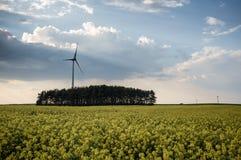 Central eléctrica de energía eólica 04 Foto de archivo libre de regalías