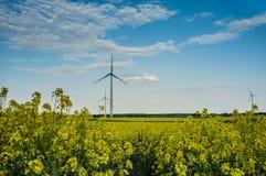 Central eléctrica de energía eólica 05 Imágenes de archivo libres de regalías