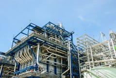 Central eléctrica de gas natural Imagen de archivo libre de regalías