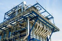 Central eléctrica de gas natural Imagenes de archivo