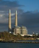 Central eléctrica de gas natural Foto de archivo