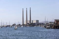 Central eléctrica de la bahía de Morro Imagenes de archivo