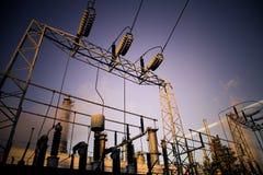 Central eléctrica de la energía Imagenes de archivo