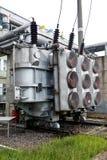 Central eléctrica de la energía y Imagenes de archivo