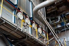 Central eléctrica de la energía y Foto de archivo