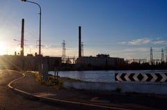 Central eléctrica de la isla de Torrens Imagen de archivo libre de regalías
