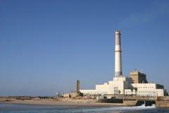 Central eléctrica de la lectura Fotos de archivo