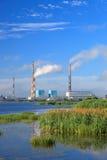 Central eléctrica de Ryazan Fotografía de archivo libre de regalías