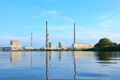 Central eléctrica de Ryazan Fotografía de archivo