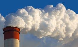 Central eléctrica de vapor Fotografía de archivo