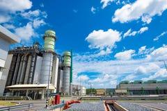 Central eléctrica del ciclo de la cosechadora Fotografía de archivo libre de regalías