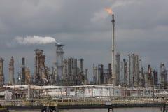 Central eléctrica del combustible fósil Imagen de archivo libre de regalías