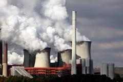Central eléctrica del lignito foto de archivo libre de regalías