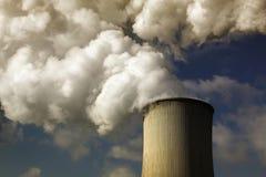 Central eléctrica del lignito fotos de archivo libres de regalías