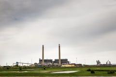 Central eléctrica del tilburí Imagenes de archivo