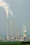 Central eléctrica eléctrica imagen de archivo libre de regalías