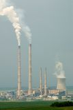 Central eléctrica elétrica Imagem de Stock Royalty Free