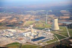 Central eléctrica en Missouri Fotos de archivo