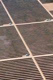 Central eléctrica fotovoltaica cerca de Kazanlak Fotografía de archivo