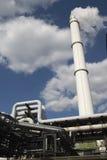 Central eléctrica grande imagenes de archivo