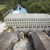 Central eléctrica hidroelétrico   Foto de Stock
