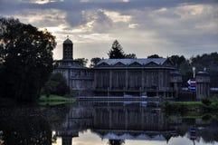 Central eléctrica histórica de agua Podebrady Fotos de archivo libres de regalías