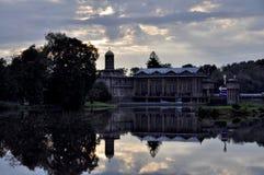 Central eléctrica histórica de agua Podebrady Imagen de archivo libre de regalías