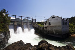 Central eléctrica Hydroelectric imagens de stock royalty free