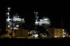 Central eléctrica industrial Fotografía de archivo libre de regalías