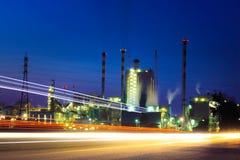 Central eléctrica industrial Fotos de archivo