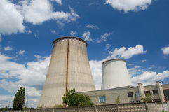 Central eléctrica. Kiev, Ucrania foto de archivo libre de regalías