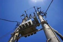 Central eléctrica local foto de archivo libre de regalías