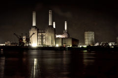 Central eléctrica Londres de Battersea imagens de stock